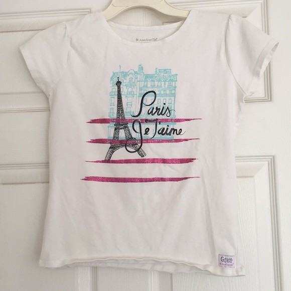 1d06addf27d American Girl Other - AMERICAN GIRL GRACE S PARIS JE T AIME SHIRT